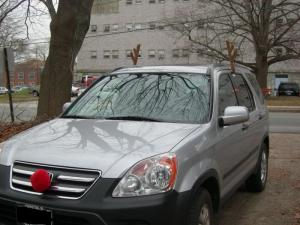 Rudolph the Red Nosed CR-V