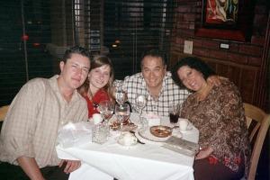 Alan, Me, Ivan & Glorisa @ La Porteña Restaurant