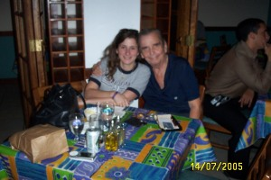 Papi and I at Metropol