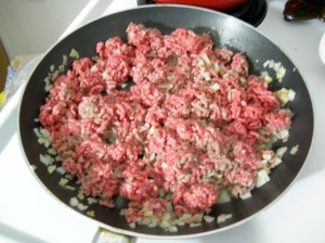 Browning Ground Beef