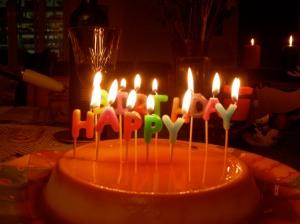 Birthday Flan!