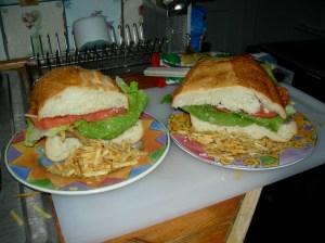 Pan con Bistec!